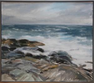 Nordhavet 80x70cm